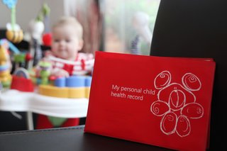 A personal child health record, or red book