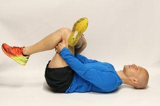 Buttock stretch