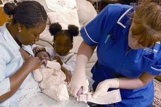 newborn blood spot test