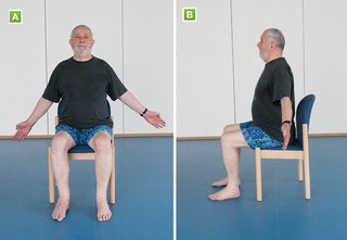 If mobility is a challenge, try these 'sitting exercises'