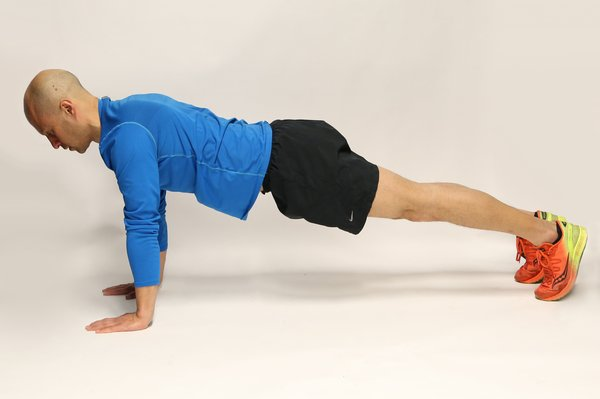 Fully extend your arms