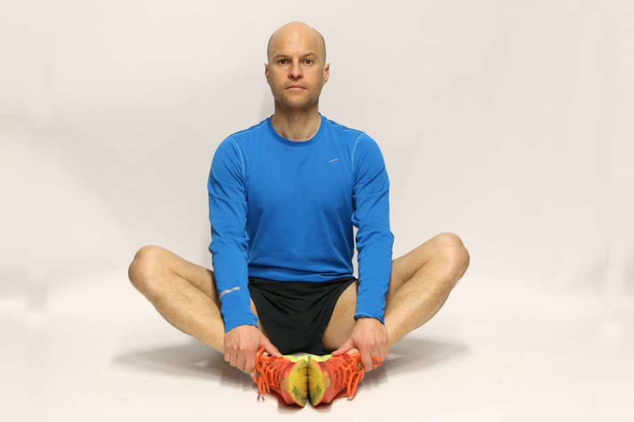 Inner thigh stretch