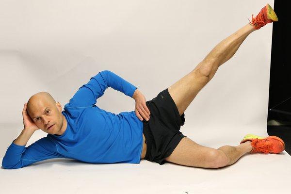 Side lying leg rises