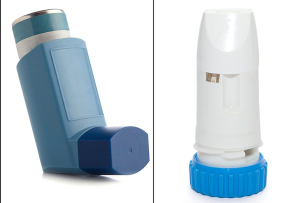 Picture of a reliever inhaler
