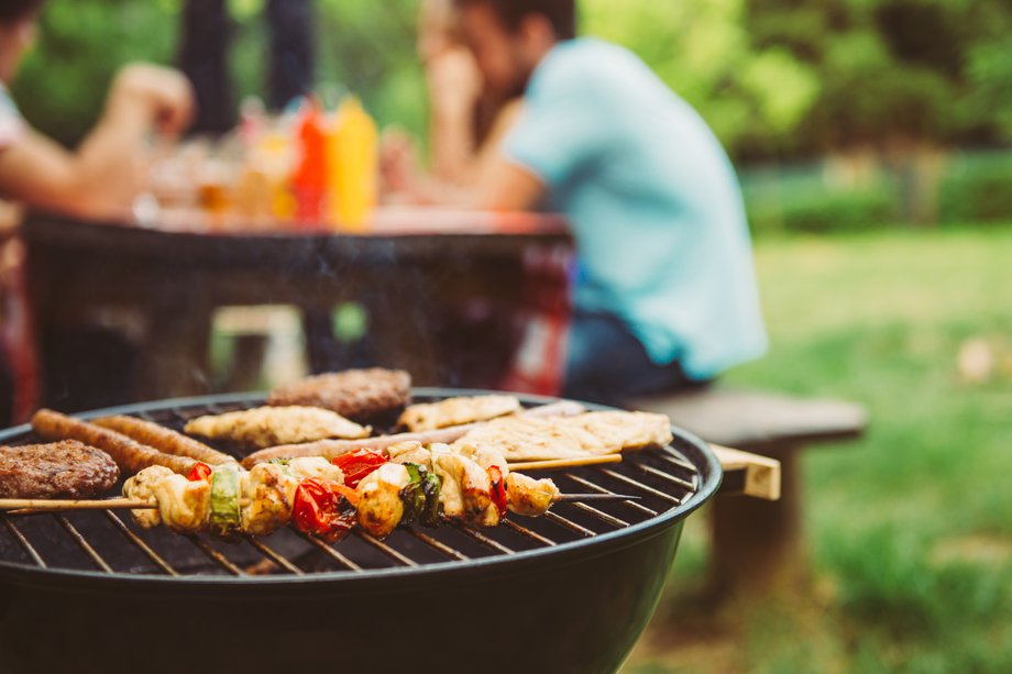 Picture of a barbeque