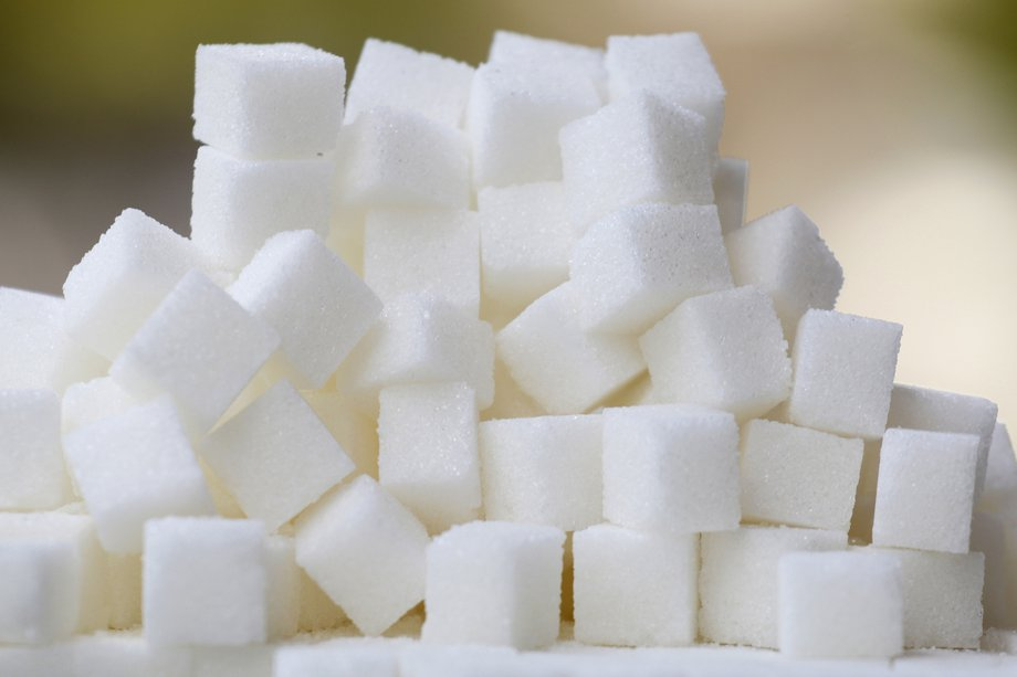 Picture of a pile of sugar cubes