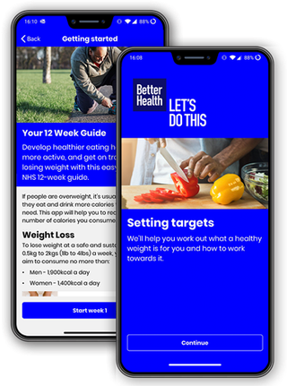 Better Health weight loss app