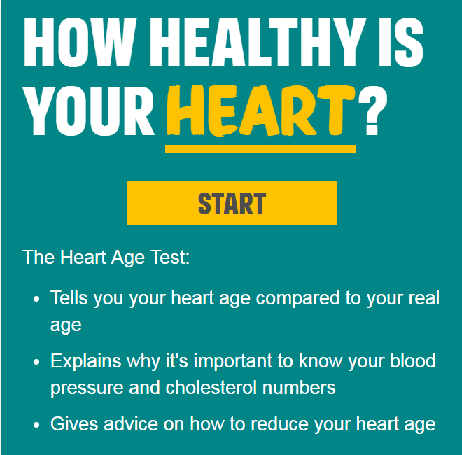 Check your heart age